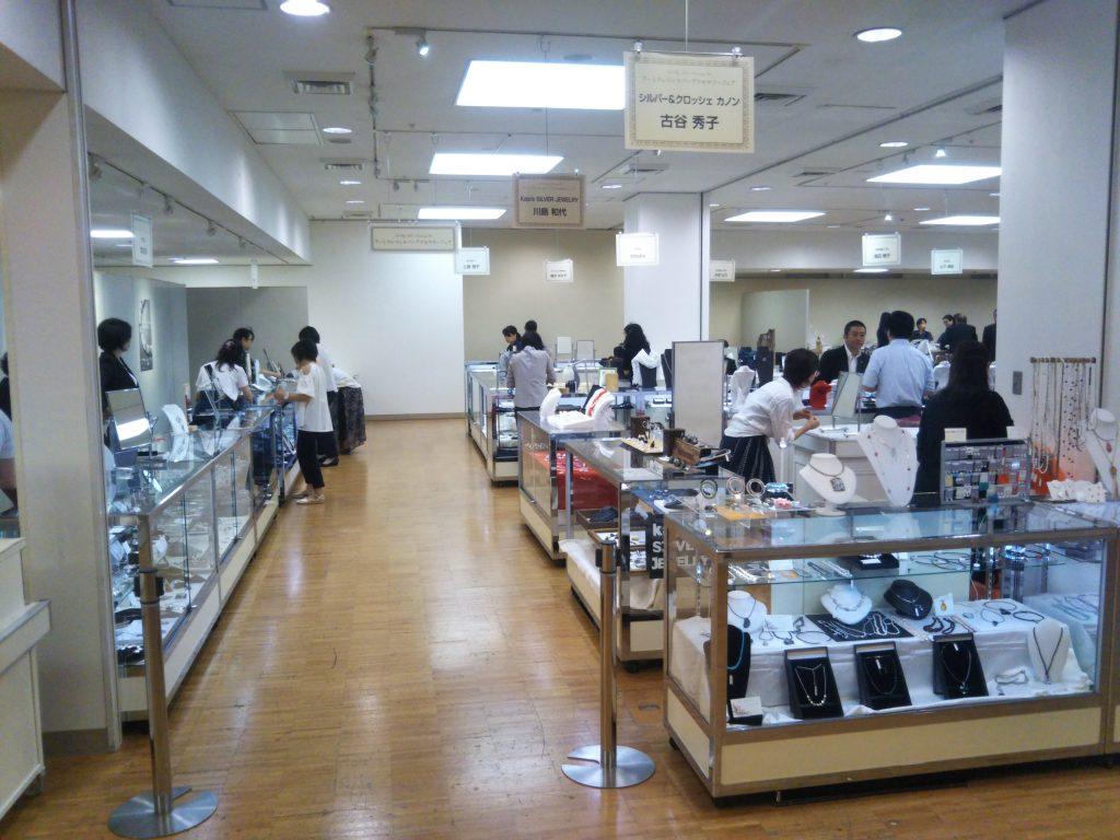 日本橋三越本店で作品販売会